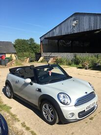 Mini convertible 1.6 diesel. Full service history, well kept. Loads of extras. Low tax