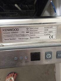 Kenwood Silver Dishwasher