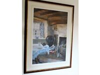 Keith Andrew Limited Edition Print 'Cottage Interior'
