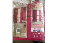 Pink curtains new