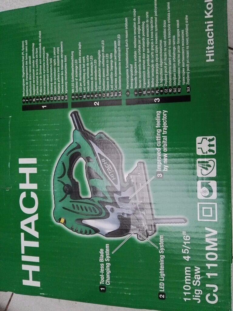 HITACHI 720W 230V 4 STAGE ORBITAL ACTION JIGSAW CJ110MV/J1   in Ware ...