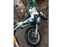 sinnis blade 125 off raod bike good condition selling because upgraded