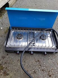 Camping double cooker