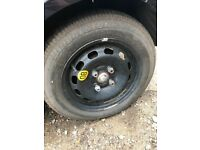 "Ford Fiesta 14"" spare wheel and tyre"