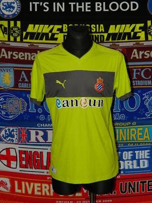 5/5 Espanyol adults L 2012 away MINT football shirt camiseta soccer image