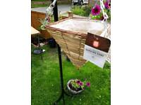 Hanging baskets brand new with tags
