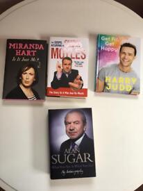 4 celeb books