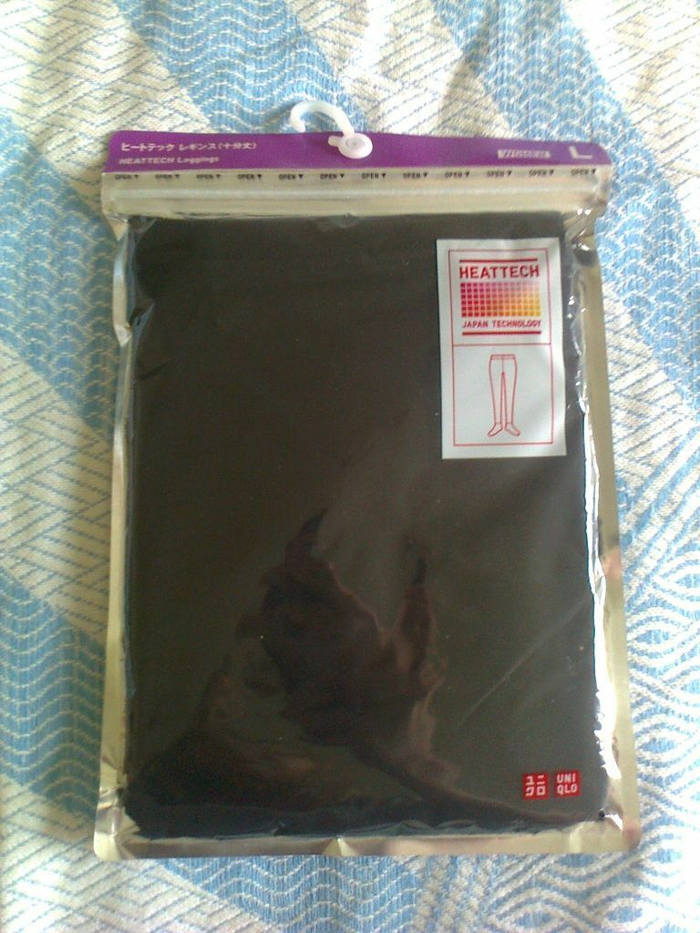 Uniqlo Heattech Leggings In Packaging Size L In