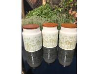 Hornsea coffee, tea & sugar pots