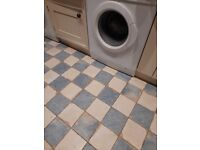 12 brand-new blue and white vintage-design Italian ceramic Floor or Wall Tiles 300 x 300 x 9.5mm