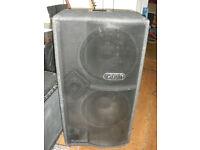 "Tech soundsystems Tecamp 2x15 Neodynamic 215S Bass guitar speaker cabinet neo cab 2 15"""