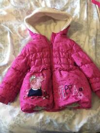 Peppa coat 2-3