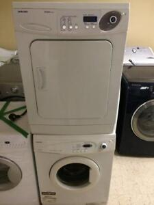 24- Laveuse Sécheuse Frontales SAMSUNG MINIS 24''  Frontload Washer Dryer