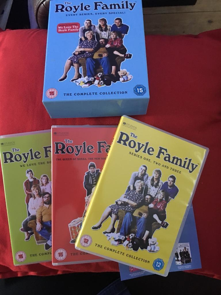 Royle family Dvd box set. Ever episode. In vgc