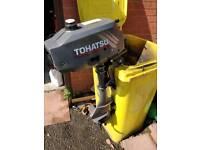Tohatsu outboard motor