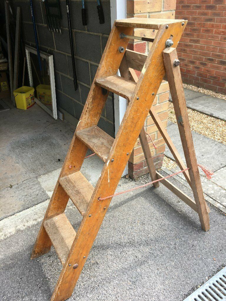 Wooden Step Ladder In Chichester West Sussex Gumtree