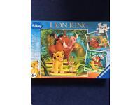 3 x Lion King Jigsaws