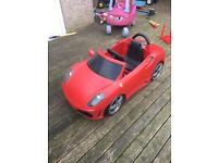 Battery operated Ferrari