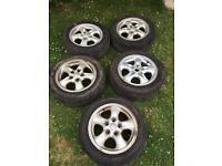 5X Mazda mx6 alloy wheels