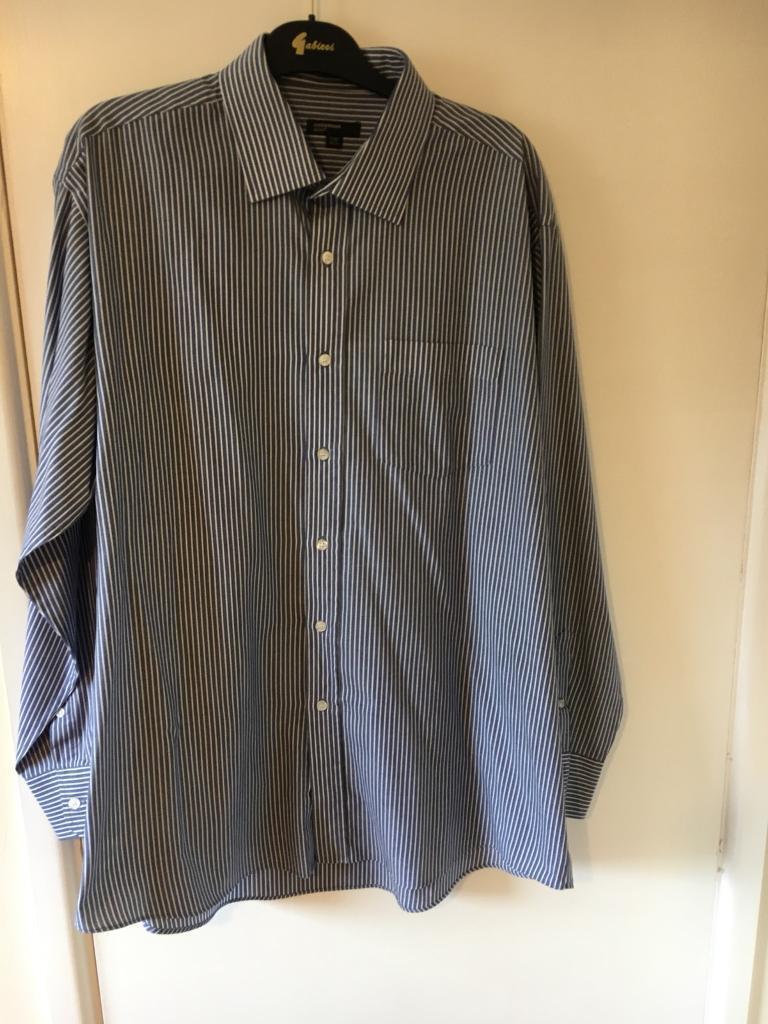 aef5ba547c5 Men s shirt 17.5 collar