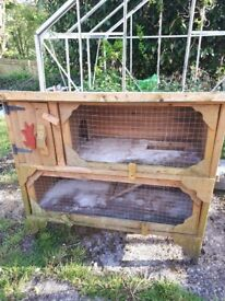 2 storey hutch for sale.