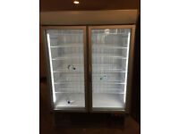 Helios 1400: Heavy Duty Display Duble Door Freezer (Fully Working & 3 Month Warranty)