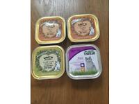 Mixed wet cat food incl Yarrah & Lily's kitchen