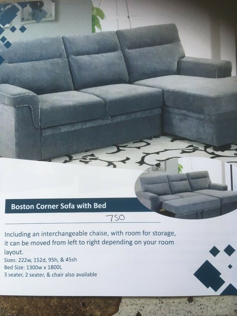 new style 8e921 ec847 corner sofa with bed | in Dungannon, County Tyrone | Gumtree