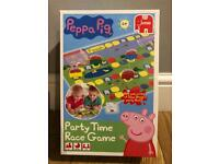 Peppa pig party tome race game