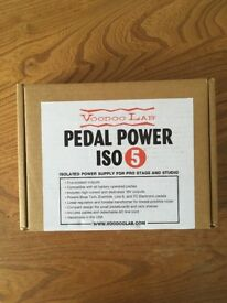 Voodoo Lab Pedal Power ISO 5 plus cables