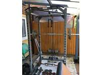 GYM EQUIPMENT, POWER RACK, OLYMPIC WEIGHTS, BODYMAX