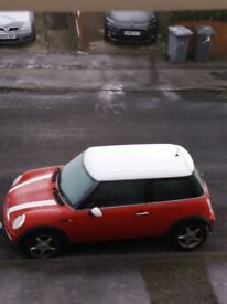 mini cooper 1.6 2004. mot end may 18 good car in and out. could do with a bck box hook £30