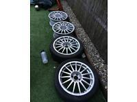 """Team Dynamics Monza Alloy Wheels 17"""" 4x100"""