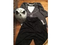 Fancy dress costumes for boy. Jack Skellington, Pirate, Arabian Prince/ Ali Baba