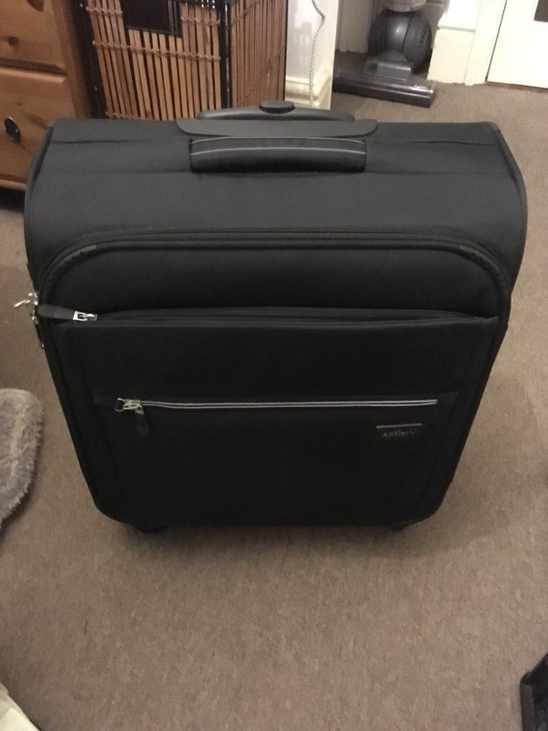 Antler marcus large cabin suitcase 56x45x25cm in for 56 45 25 cabin bag