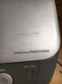 EPSON STYLUS PHOTO RX520 colour printer / copier / scanner