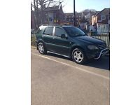 MERCEDES ML 270 CDI 7 SEATER (YEAR 2000) EXCELLENT CONDITION