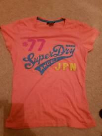 Ladies Superdry T shirt size L