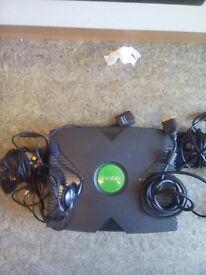 Xbox green good condition