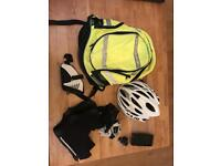 Complete Set of Road Cycling Accessories