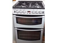 Sold. Freestanding gas double oven and hob.