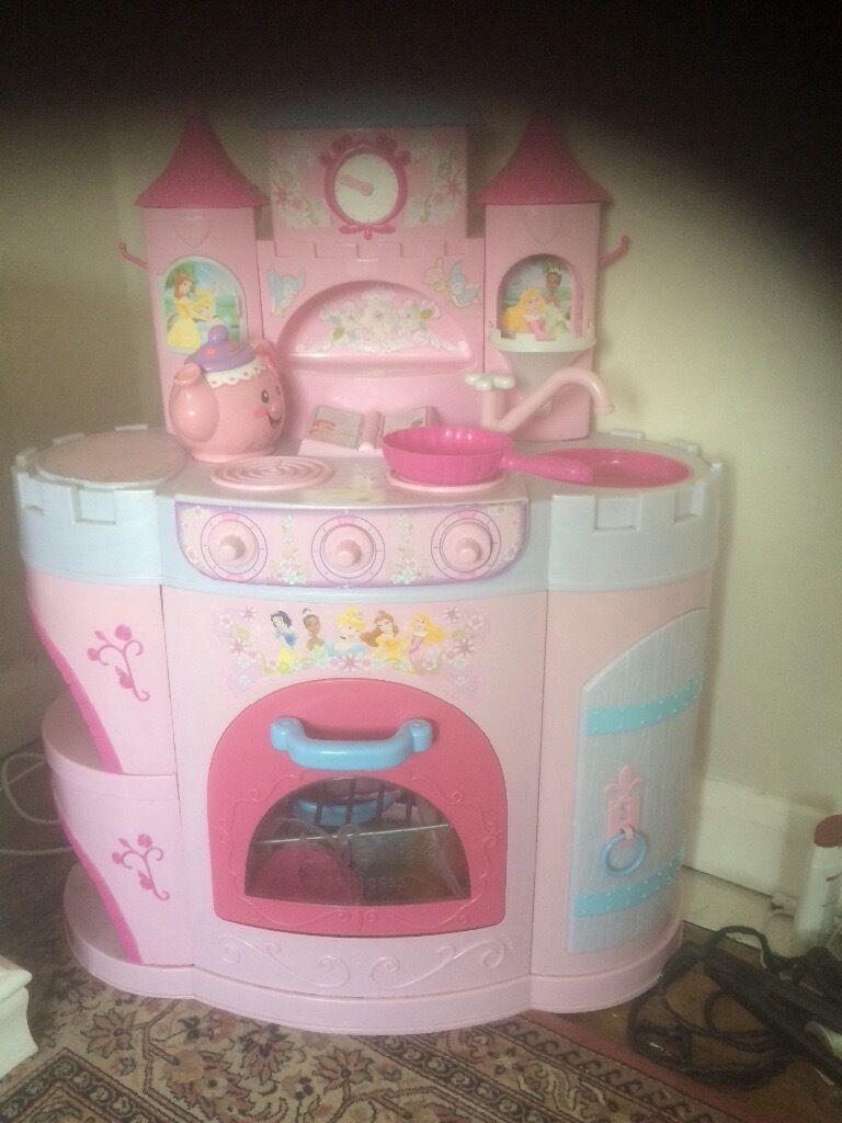 Princess play kitchen
