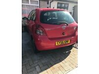 Toyota Yaris ( faulty engine)