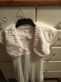 Cream dress beautiful from BHS with bolero jacket