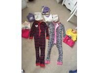 7x girls pyjamas 7/8-8/9