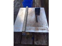 Power craft tile cutter 6 inch blade 600watt motor