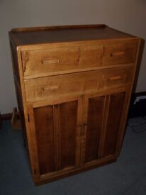 Wooden Drawers and Cupboard