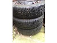 Free Good tyres , great tread , free