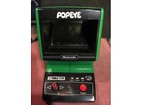 Popeye Table Top Retro game by Nintendo