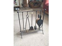 Set of 5 fire implements